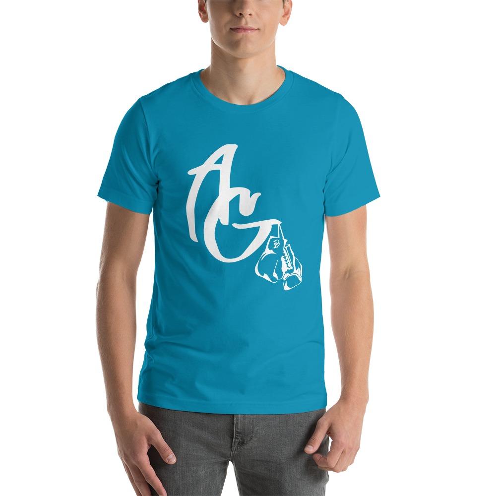 Amanda Galle Men's T-Shirt, White Logo