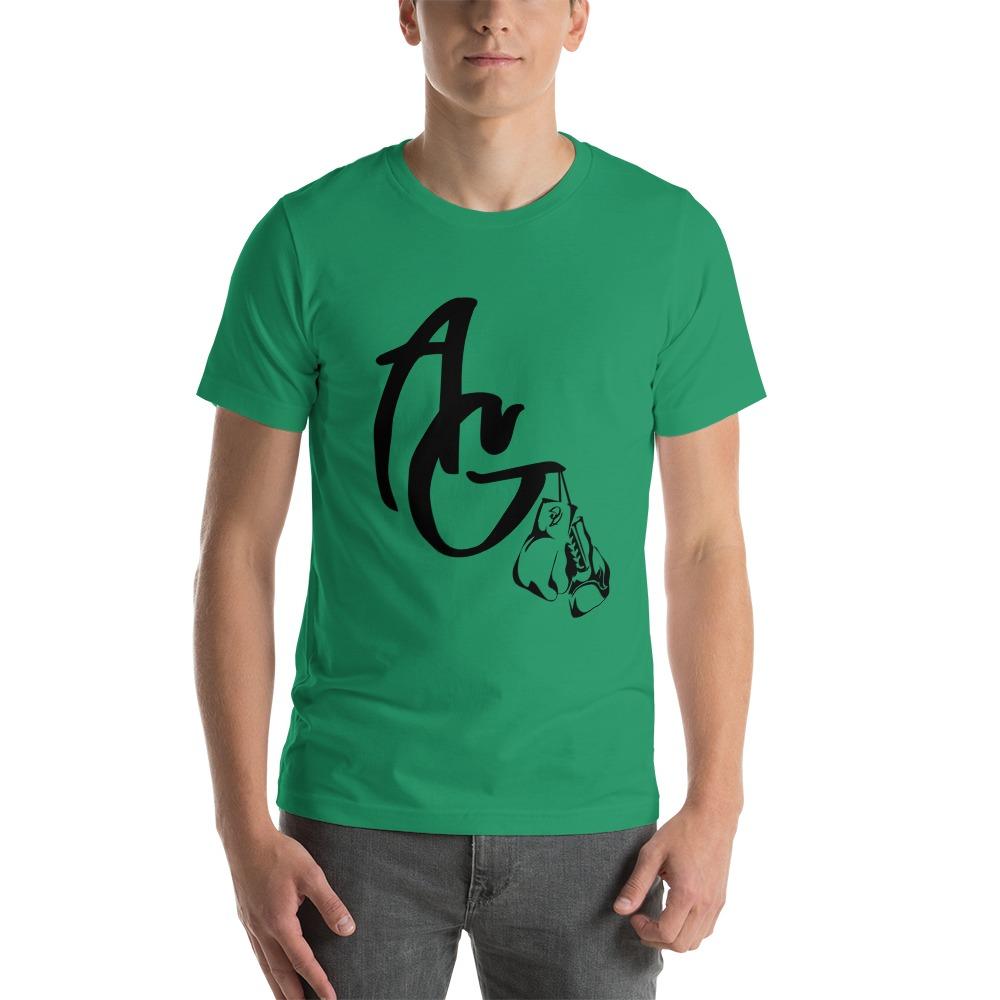 Amanda Galle Men's T-Shirt, Black Logo