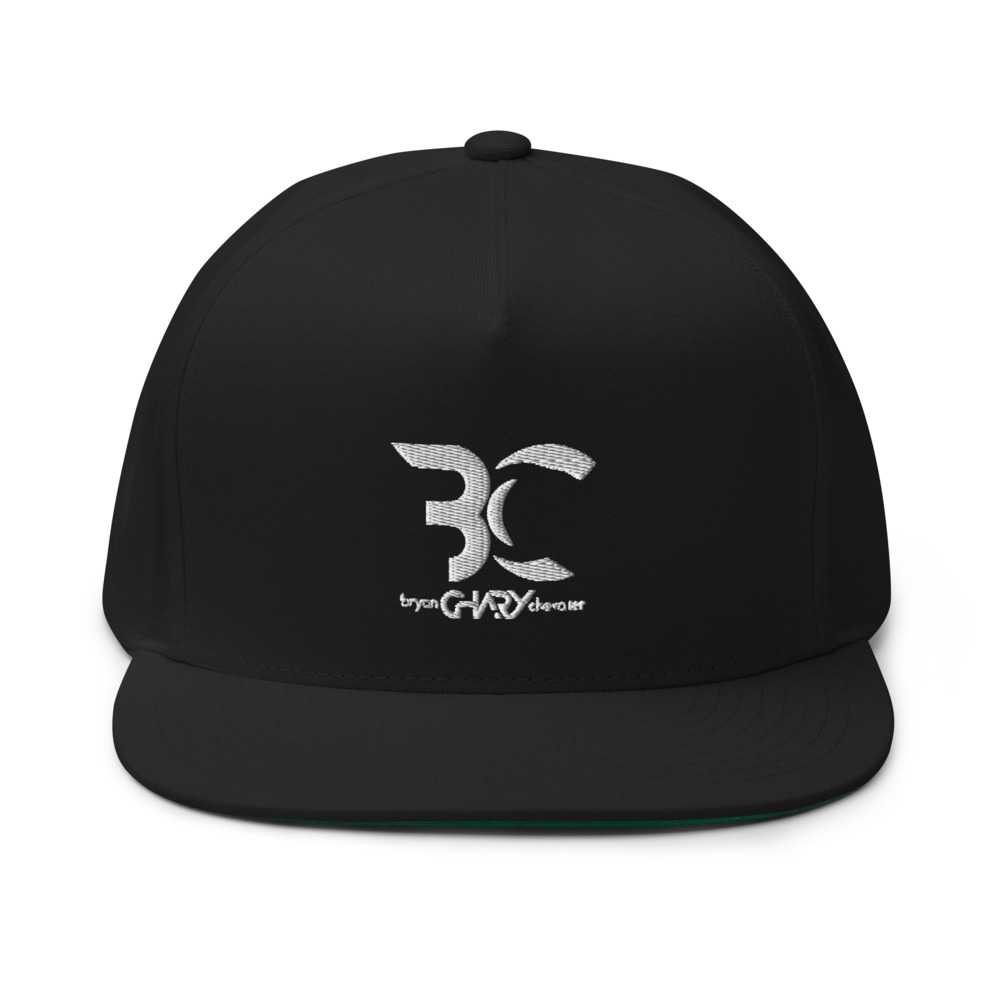 "Bryan ""Chary"" Chevalier Hat, White Logo"