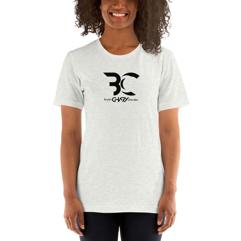 "Bryan ""Chary"" Chevalier Women's T-shirt, Black Logo"