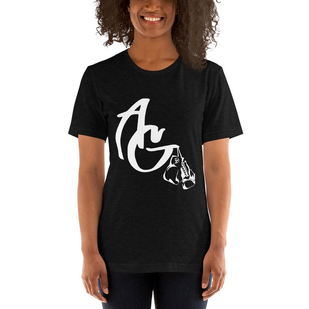 Amanda Galle Women's T-Shirt, White Logo