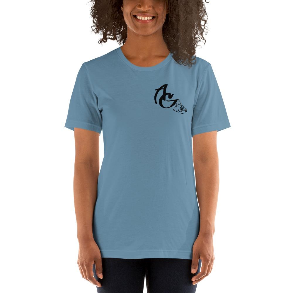 Amanda Galle Women's T-Shirt, Black Mini Logo