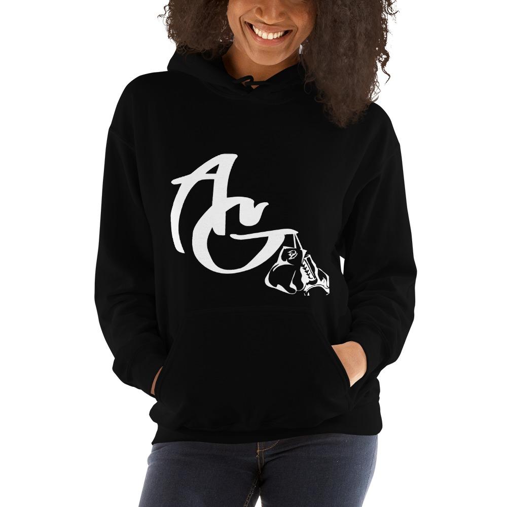 Amanda Galle Women's Hoodies, White Logo