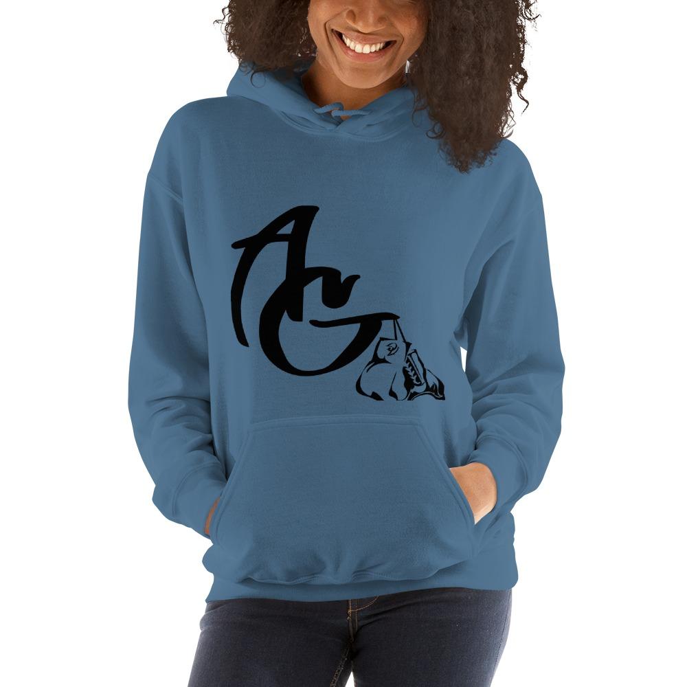 Amanda Galle Women's Hoodies, Black Logo