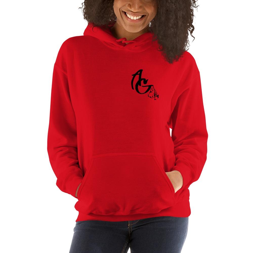 Amanda Galle Women's Hoodies, Black Mini Logo