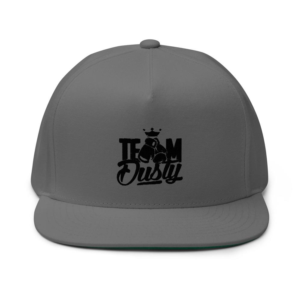 Team Dusty by Dusty Hernandez Hat Black Logo