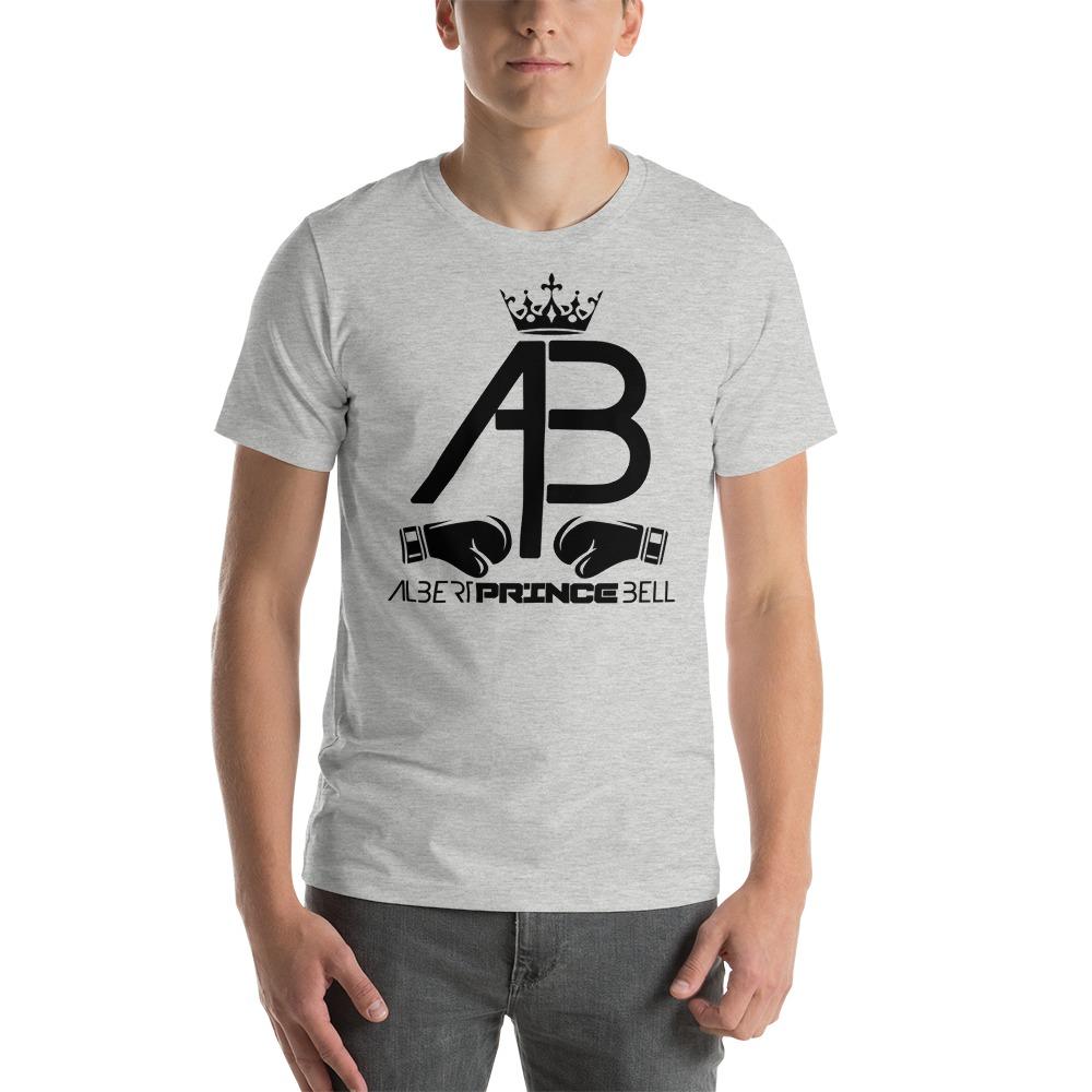 AB Crown by Albert Bell, Men's T-Shirt, Black Logo