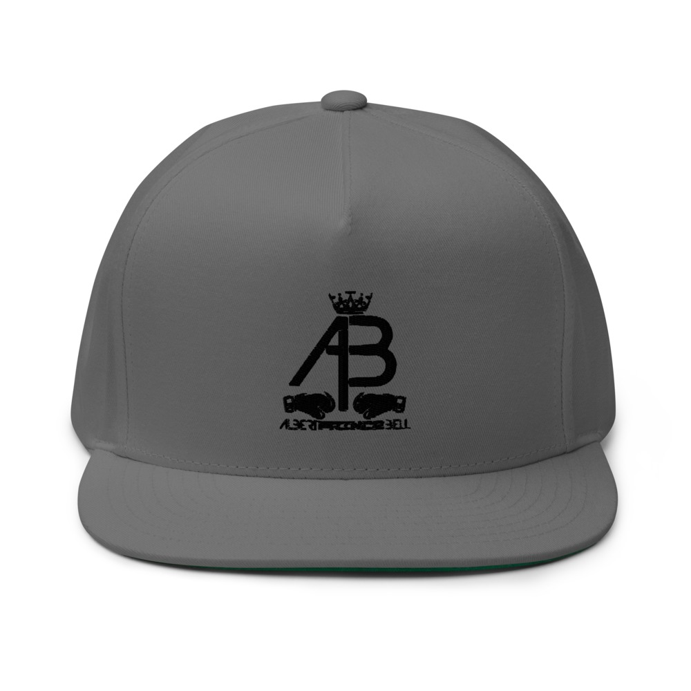 AB Crown by Albert Bell Hat, Black Logo