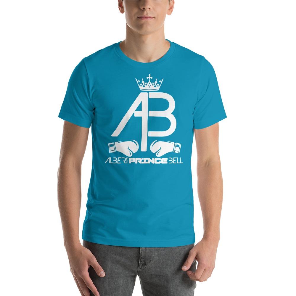 AB Crown by Albert Bell, Men's T-Shirt, White Logo