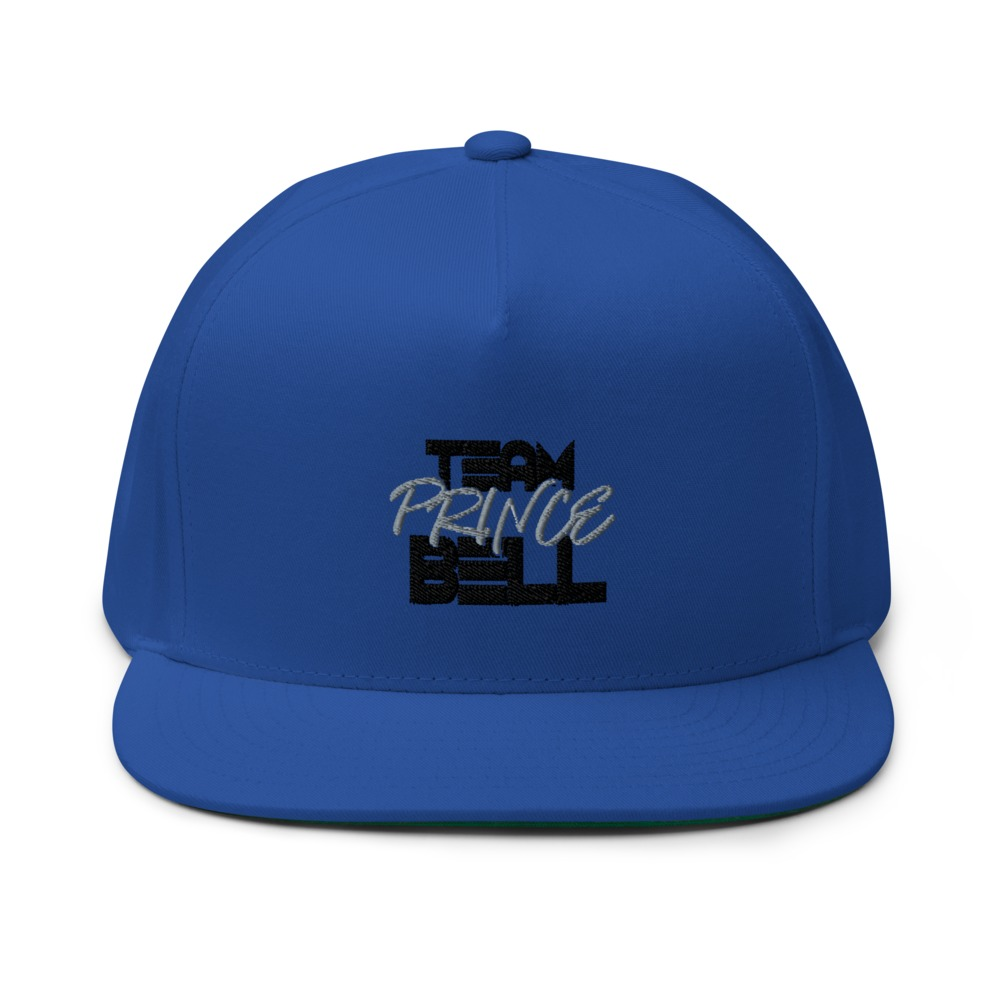 """""""Team Prince Bell"""" by Albert Bell Hat, Black and Grey Logo"""