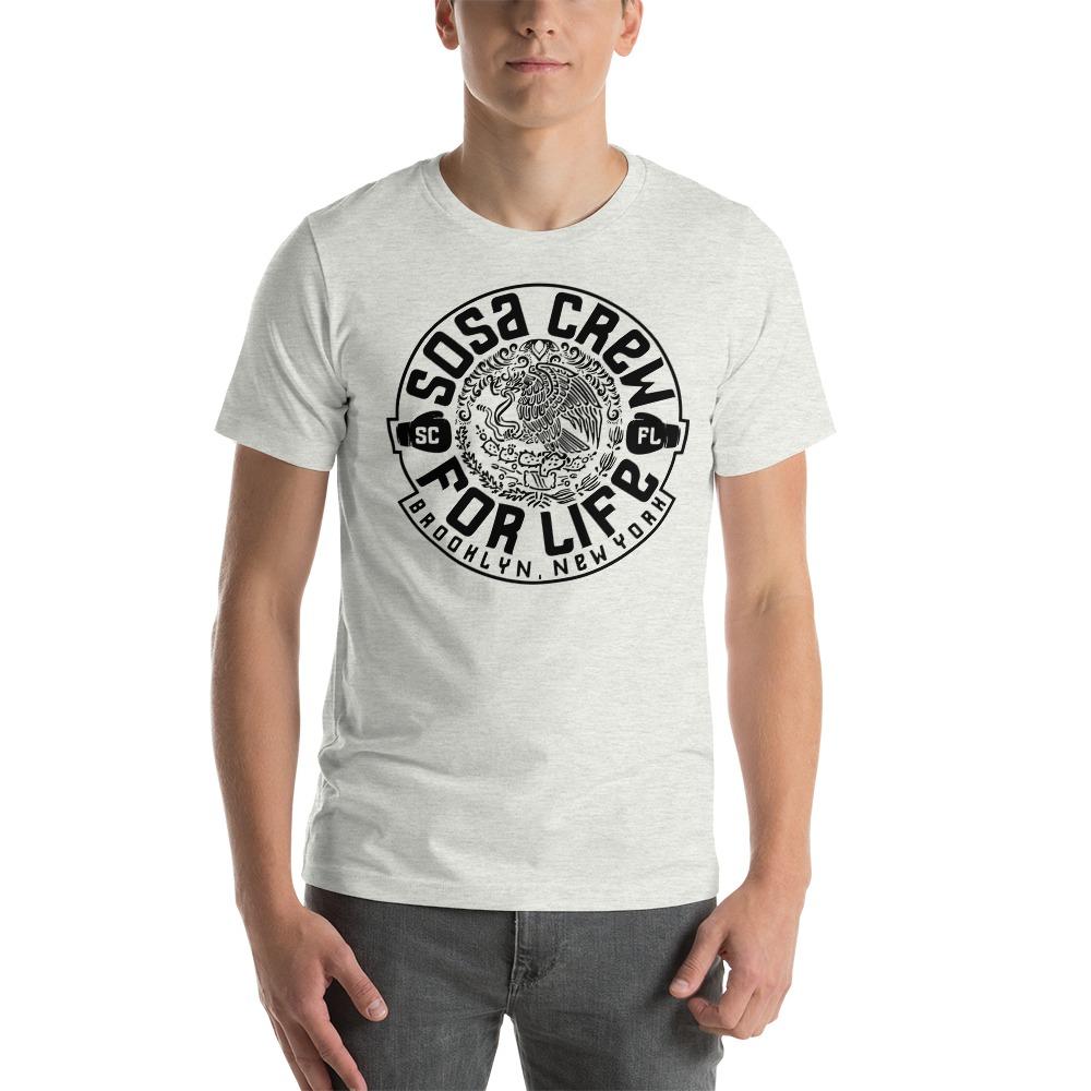 """""""Sosa Crew"""" By Aureliano Sosa Men's T-Shirt Black Logo"""