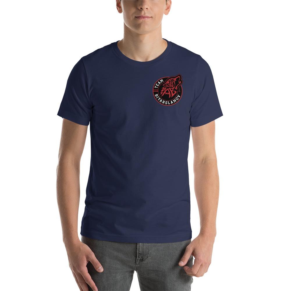 Limited Edition Wolf by Arthur Biyarslanov Men's T-shirt, Mini Logo