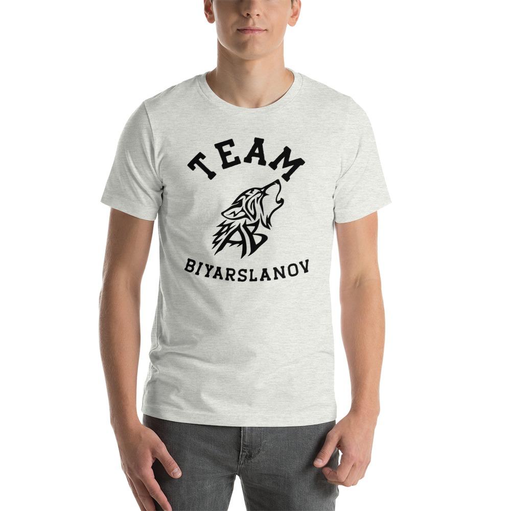 Team Biyarslanov Men's T-shirt, Black Logo