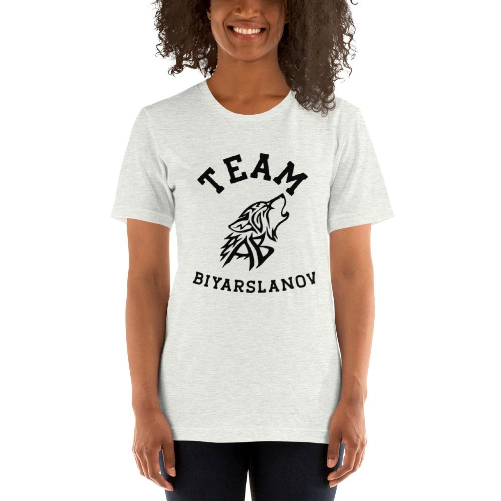 Team Biyarslanov Women's T-shirt, Black Logo