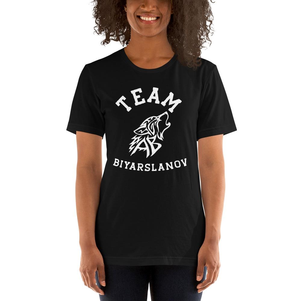 Team Biyarslanov Women's T-shirt, White Logo
