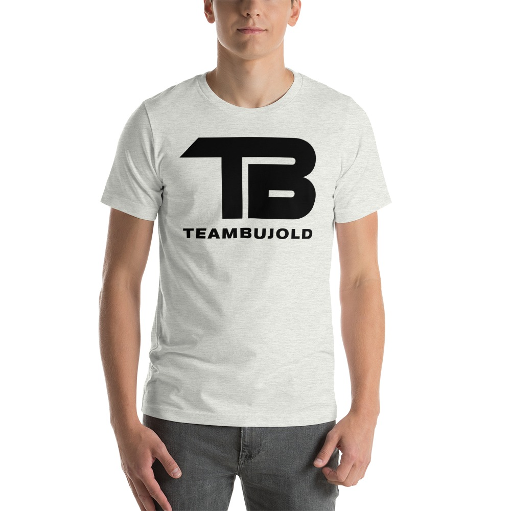 Team Bujold Men's T-shirt, All Black Logo