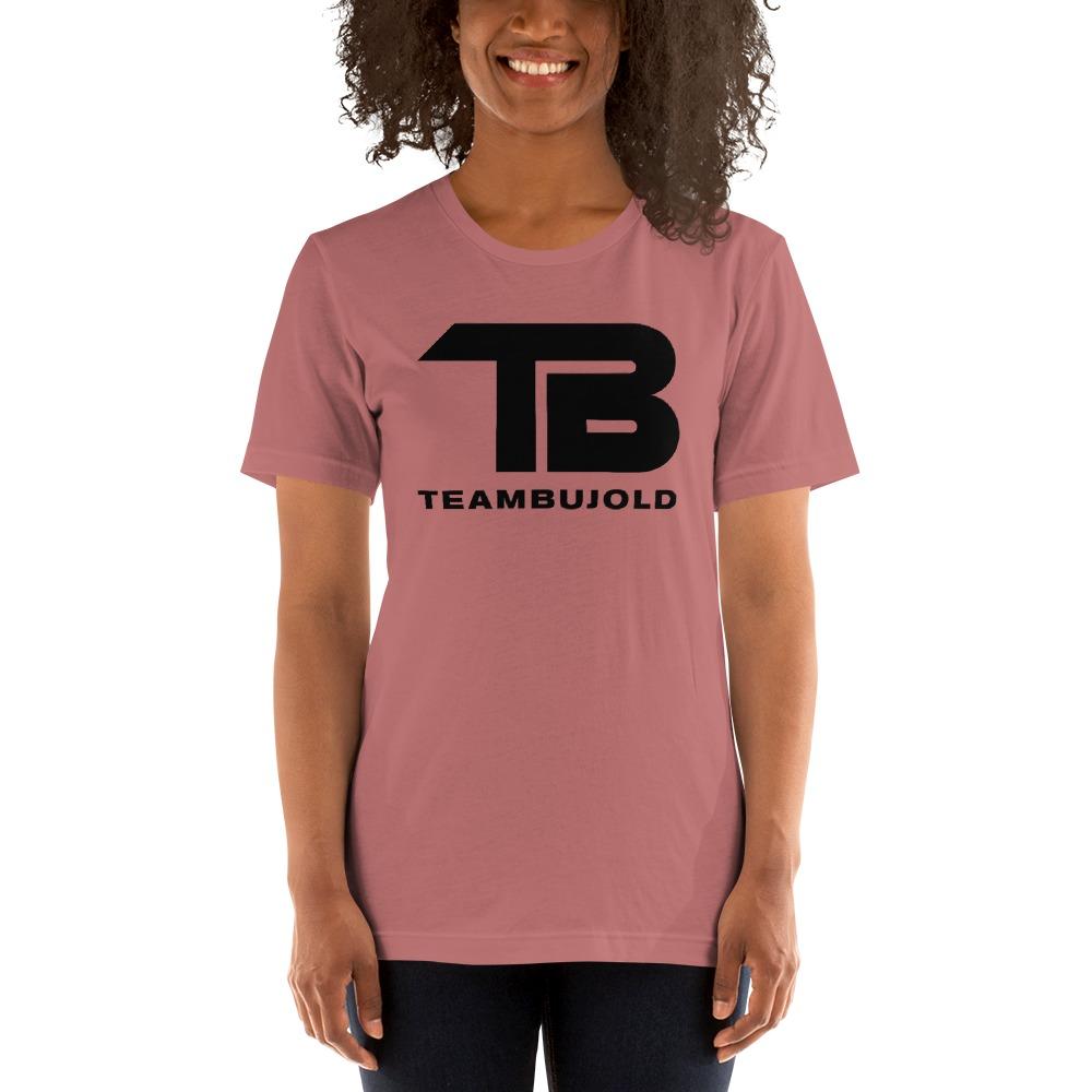 Team Bujold Women's T-shirt, All Black Logo