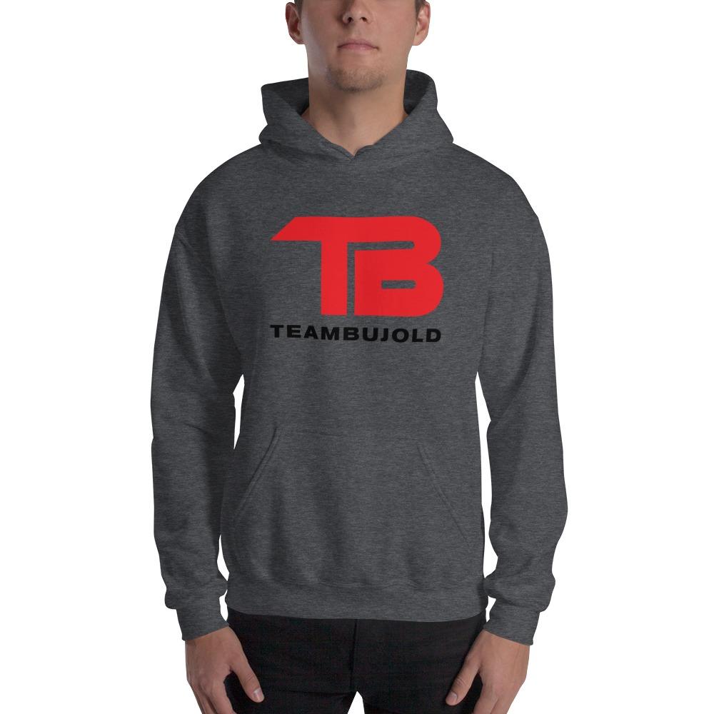 Team Bujold Men's Hoodie, Dark Logo