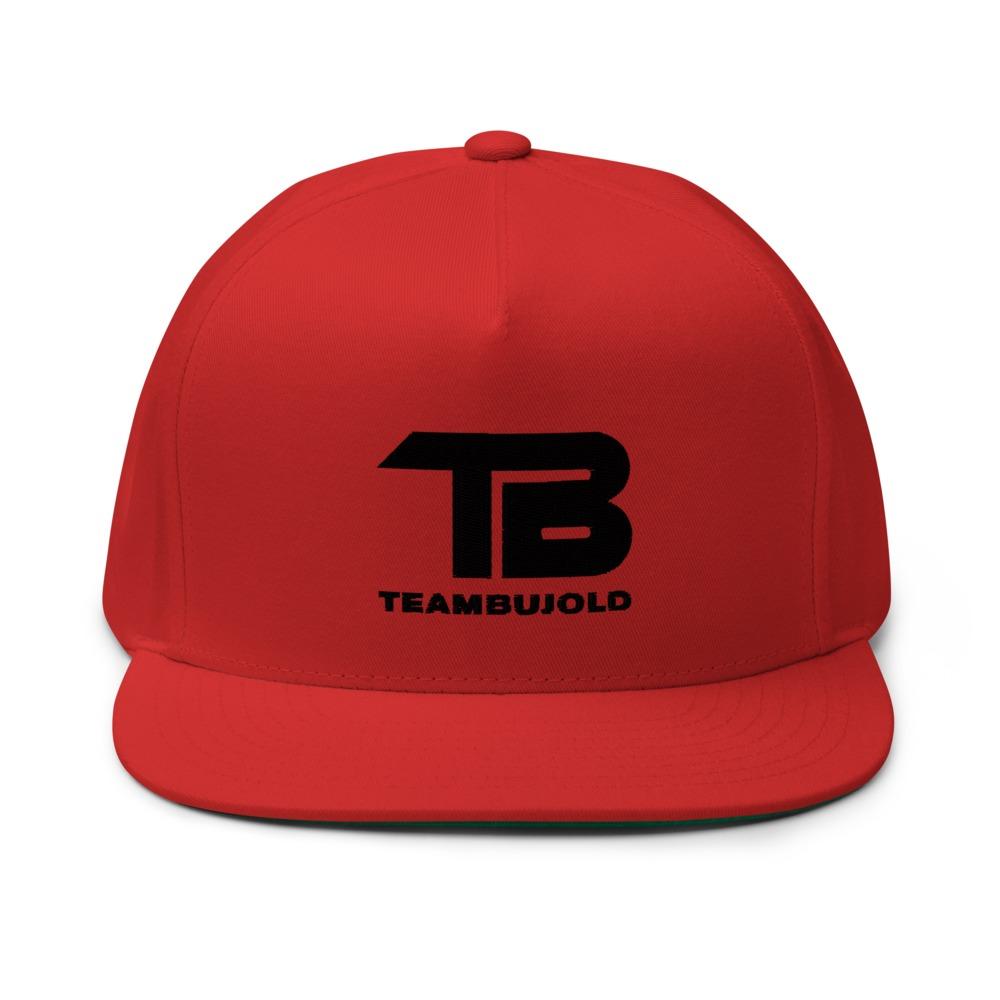 Team Bujold Hat, All Black Logo