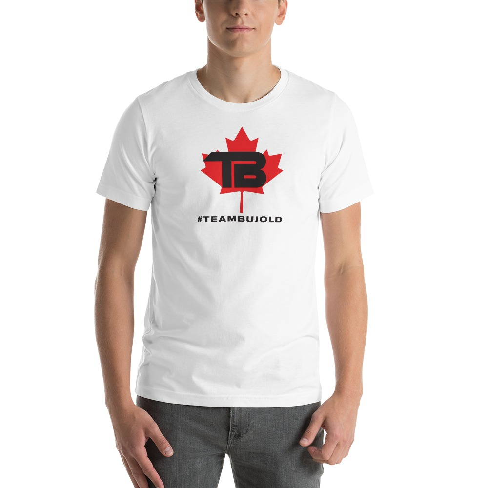 #TeamBujold Men's T-Shirt, Black Logo