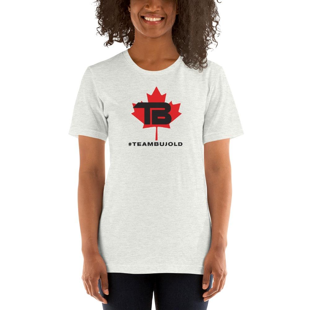 #TeamBujold Women's T-Shirt, Black Logo