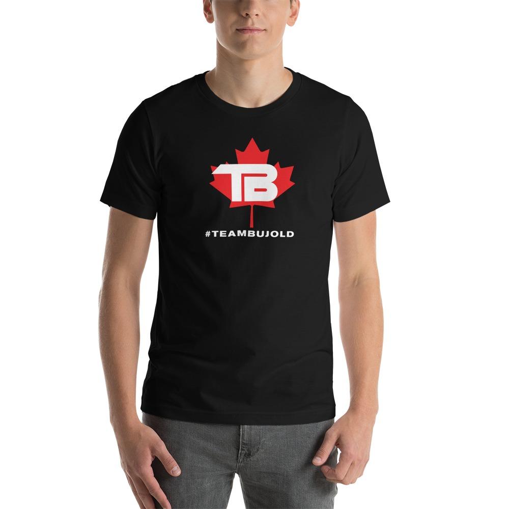 #TeamBujold Men's T-Shirt, White Logo