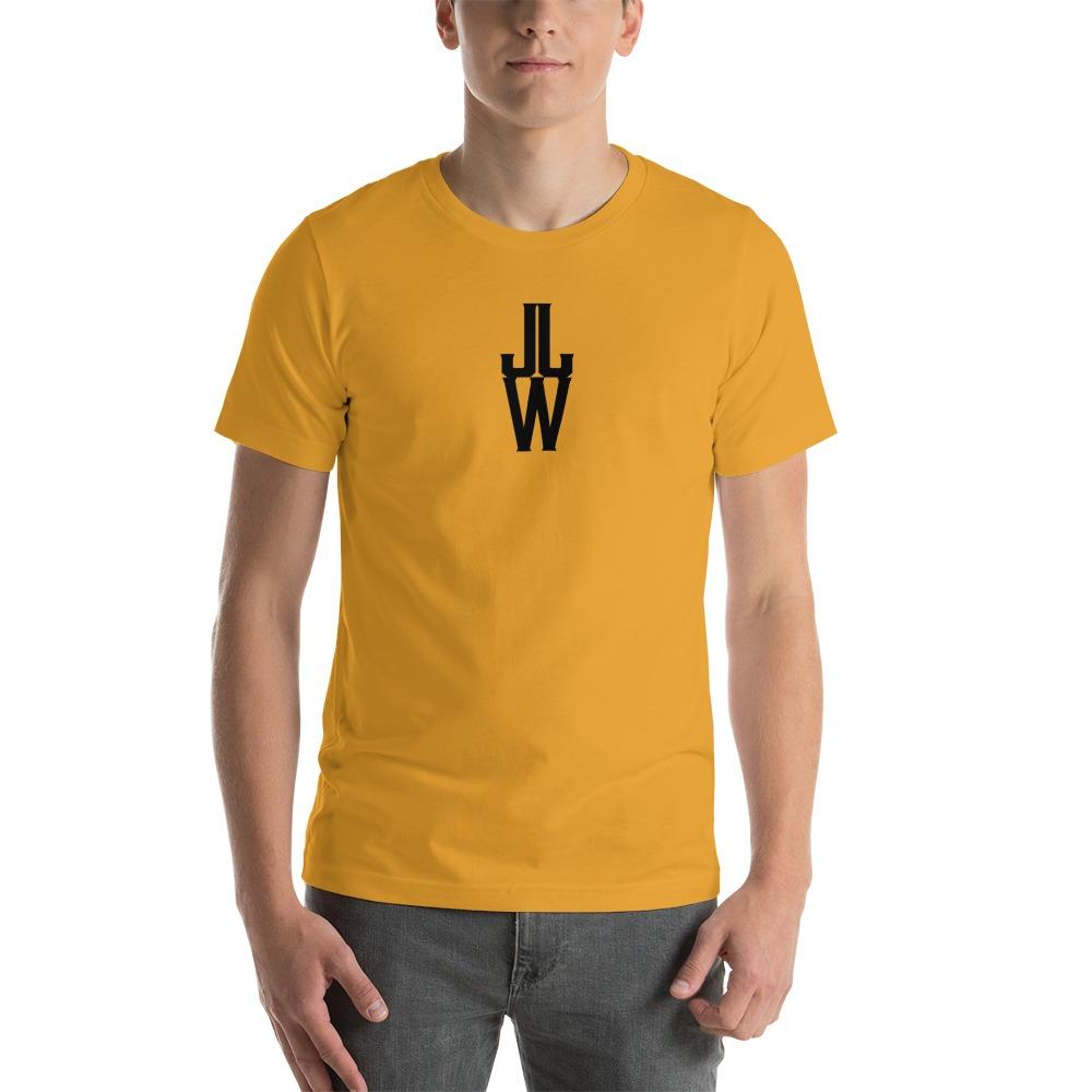 JJW by Jesse James Wallace Men's T-shirt, Black Logo