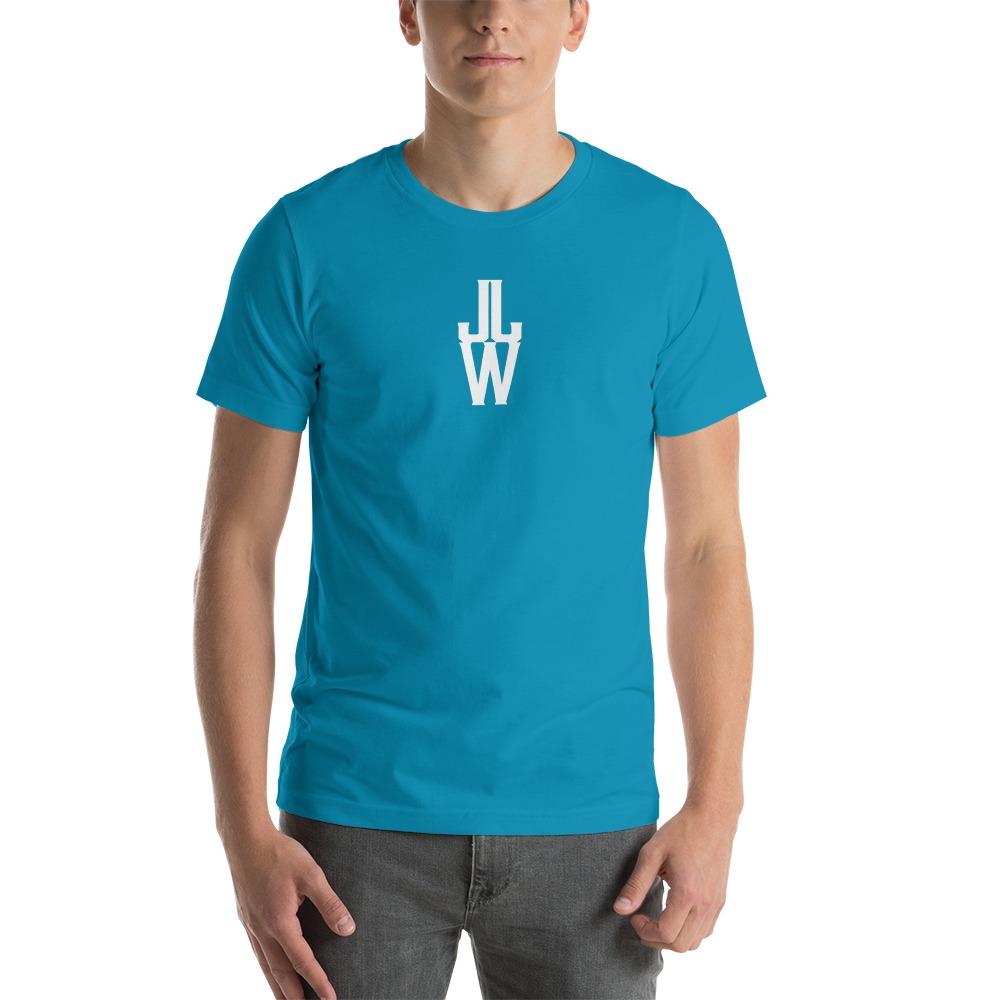 JJW by Jesse James Wallace Men's T-shirt, White Logo