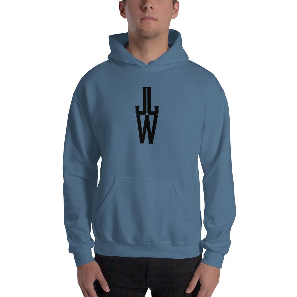 JJW by Jesse James Wallace Men's Hoodies, Black Logo
