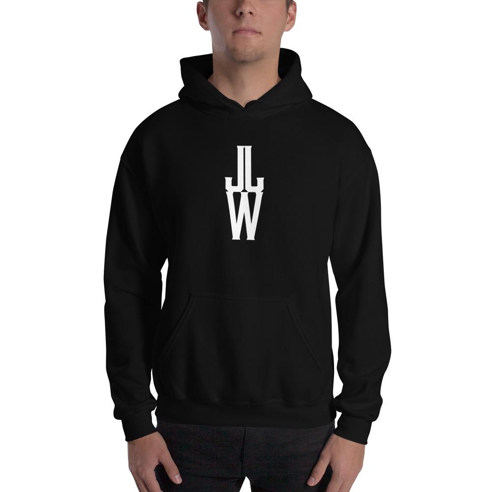 JJW by Jesse James Wallace Men's Hoodies, White Logo