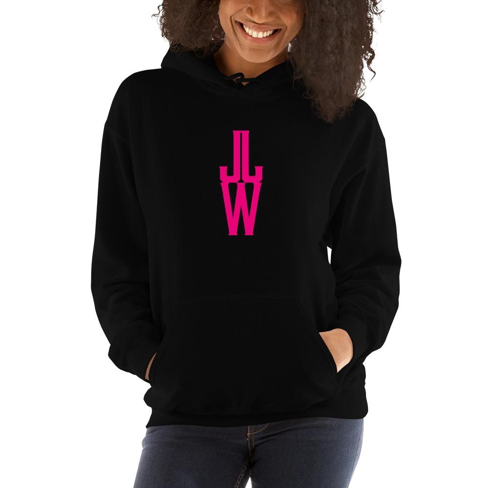 JJW by Jesse James Wallace Women's Hoodies, Pink Logo