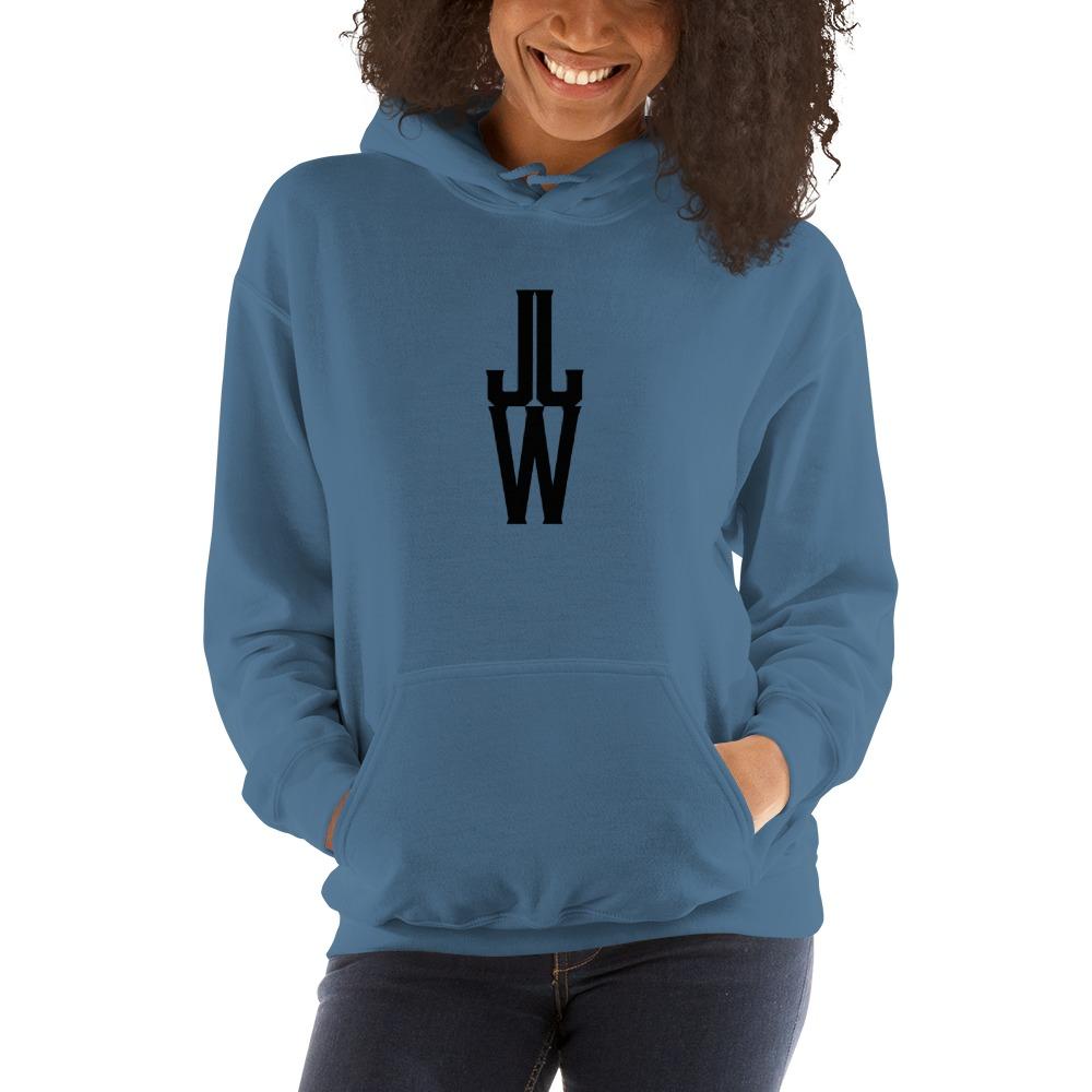 JJW by Jesse James Wallace Women's Hoodies, Black Logo