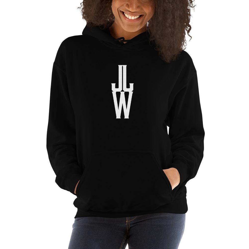 JJW by Jesse James Wallace Women's Hoodies, White Logo