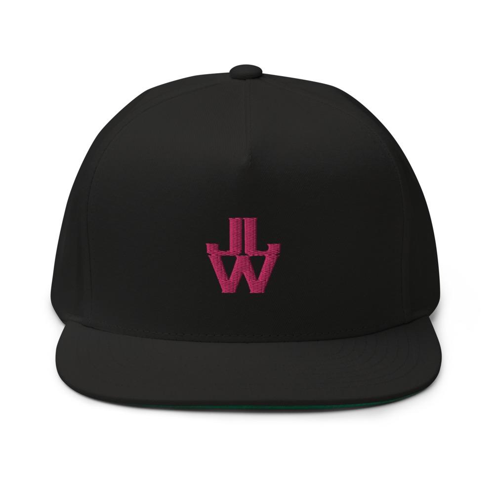 JJW by Jesse James Wallace Hat, Pink Logo
