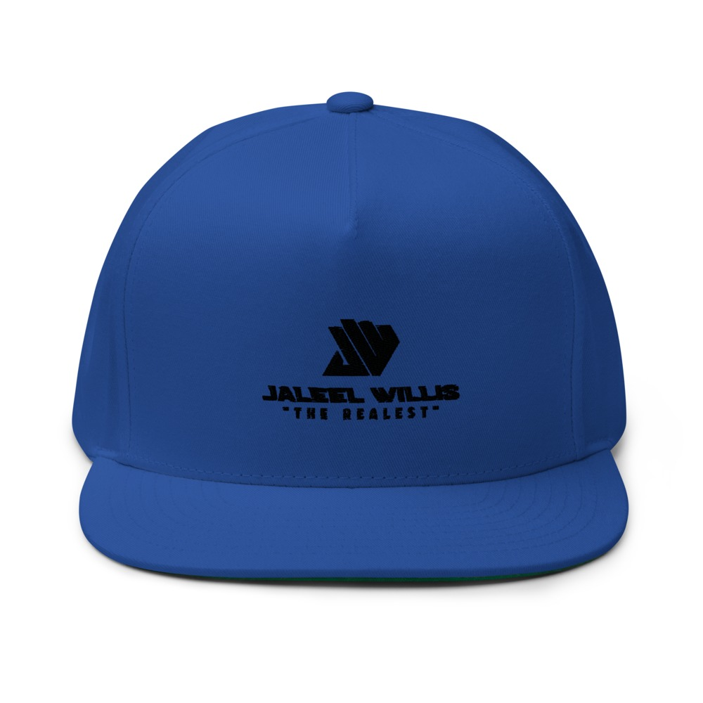 The Realest by Jaleel Willis Hat, All Black Logo