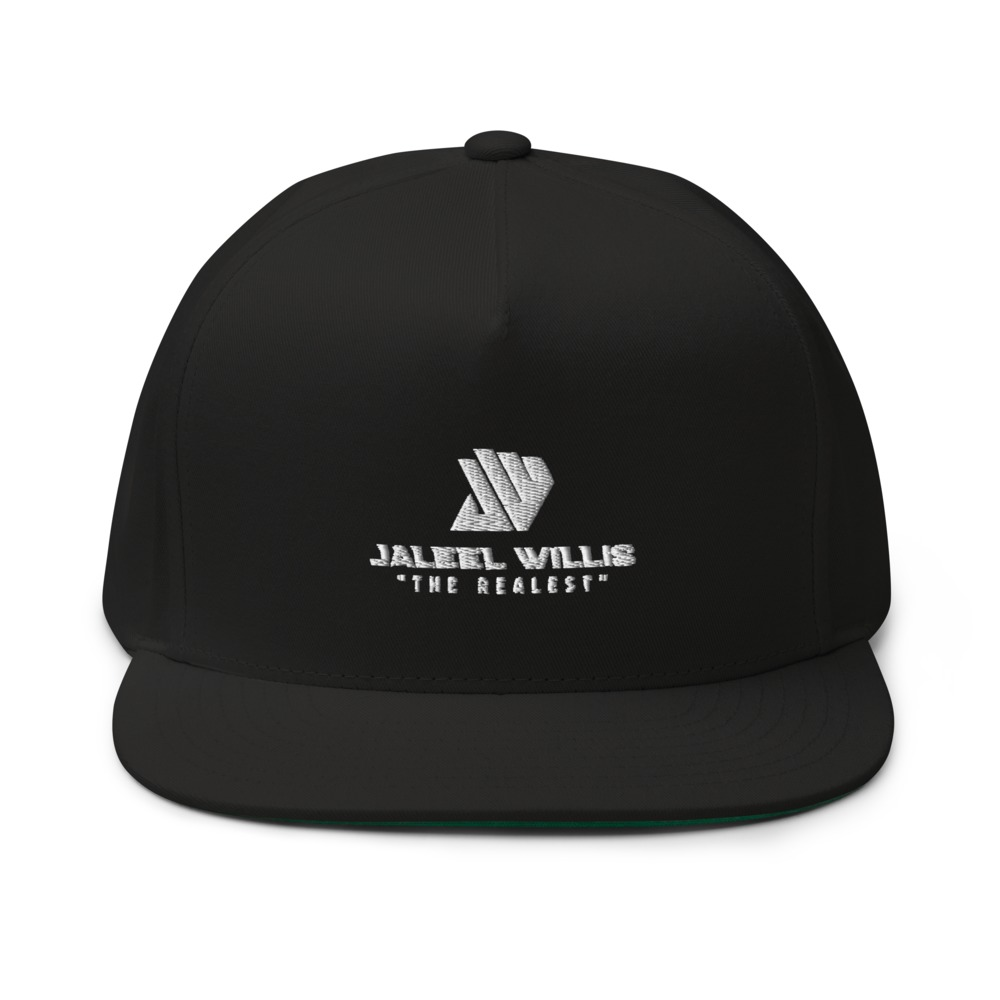 The Realest by Jaleel Willis Hat, All White Logo