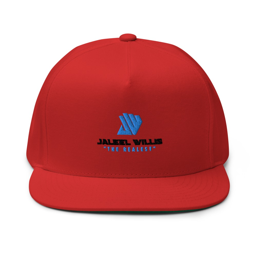 The Realest by Jaleel Willis Hat, Blue Logo