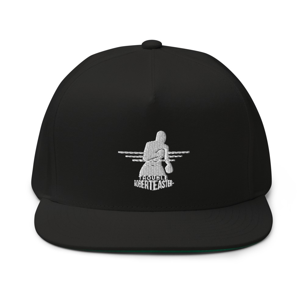 """""""Trouble"""" by Robert Easter Jr,Hat, White Logo"""