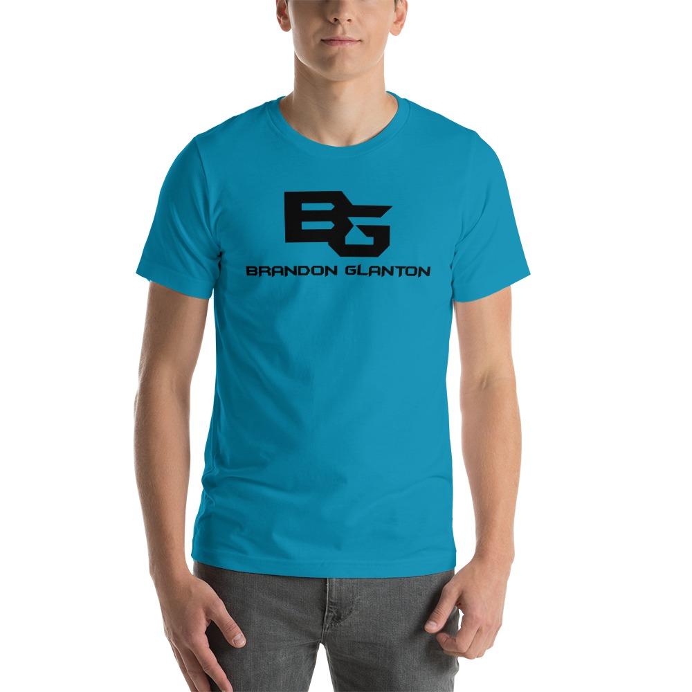 Brandon Glanton Men's T-Shirt, Black Logo