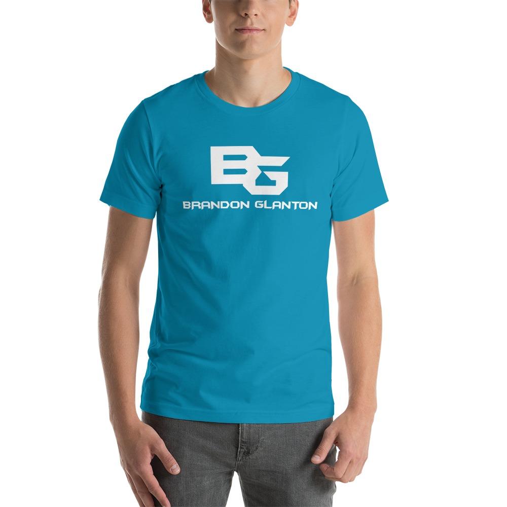Brandon Glanton Men's T-Shirt, White Logo