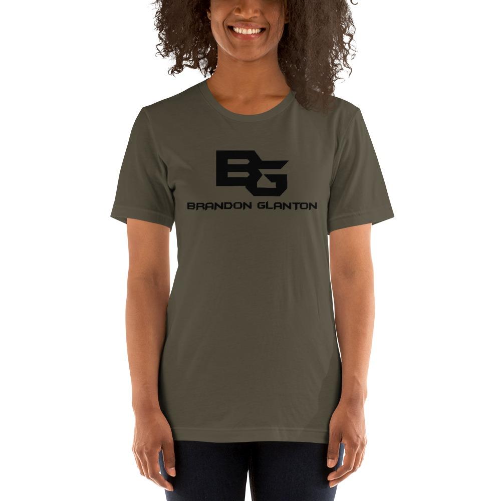 Brandon Glanton Women's T-Shirt, Black Logo