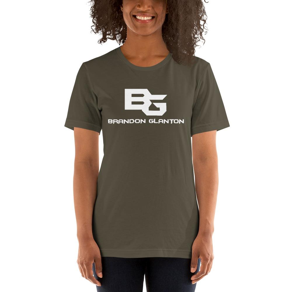 Brandon Glanton Women's T-Shirt, White Logo
