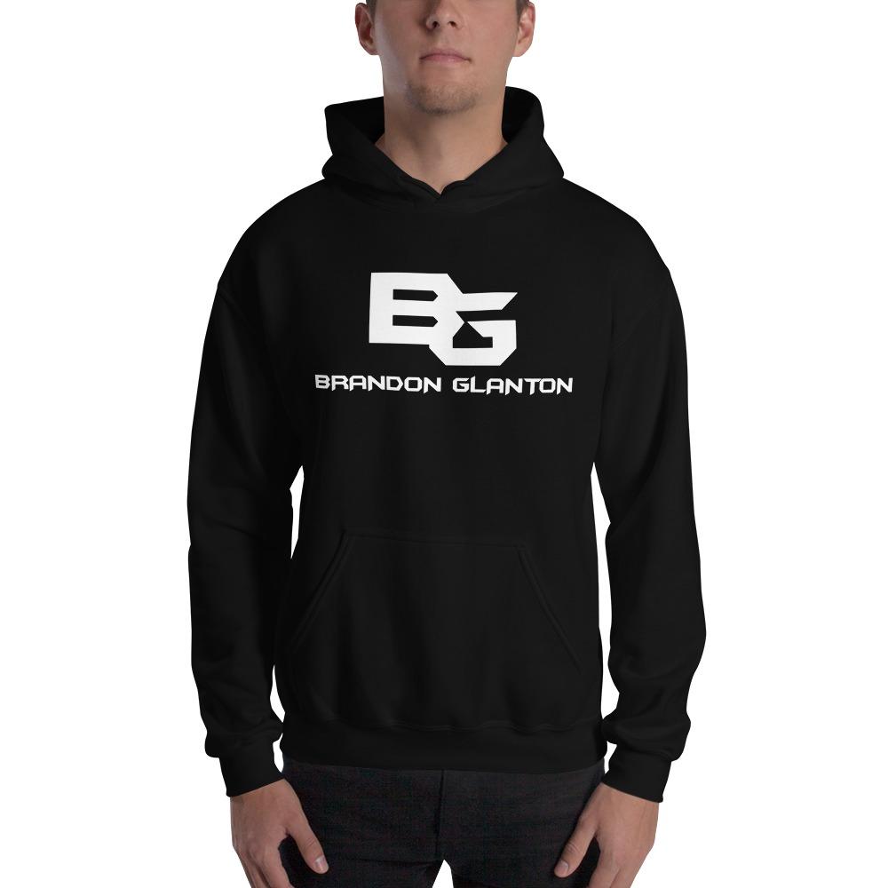 Brandon Glanton Men's Hoodies, White Logo