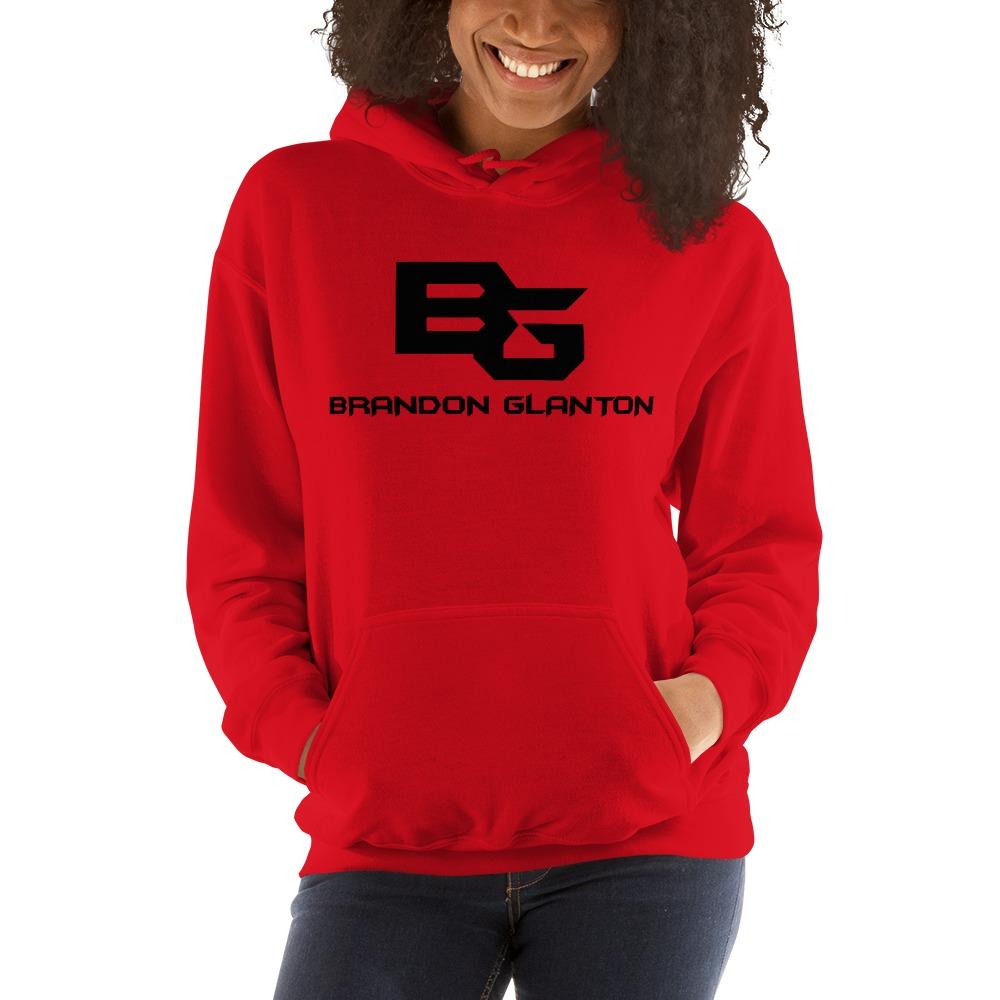 Brandon Glanton Women's Hoodies, Black Logo