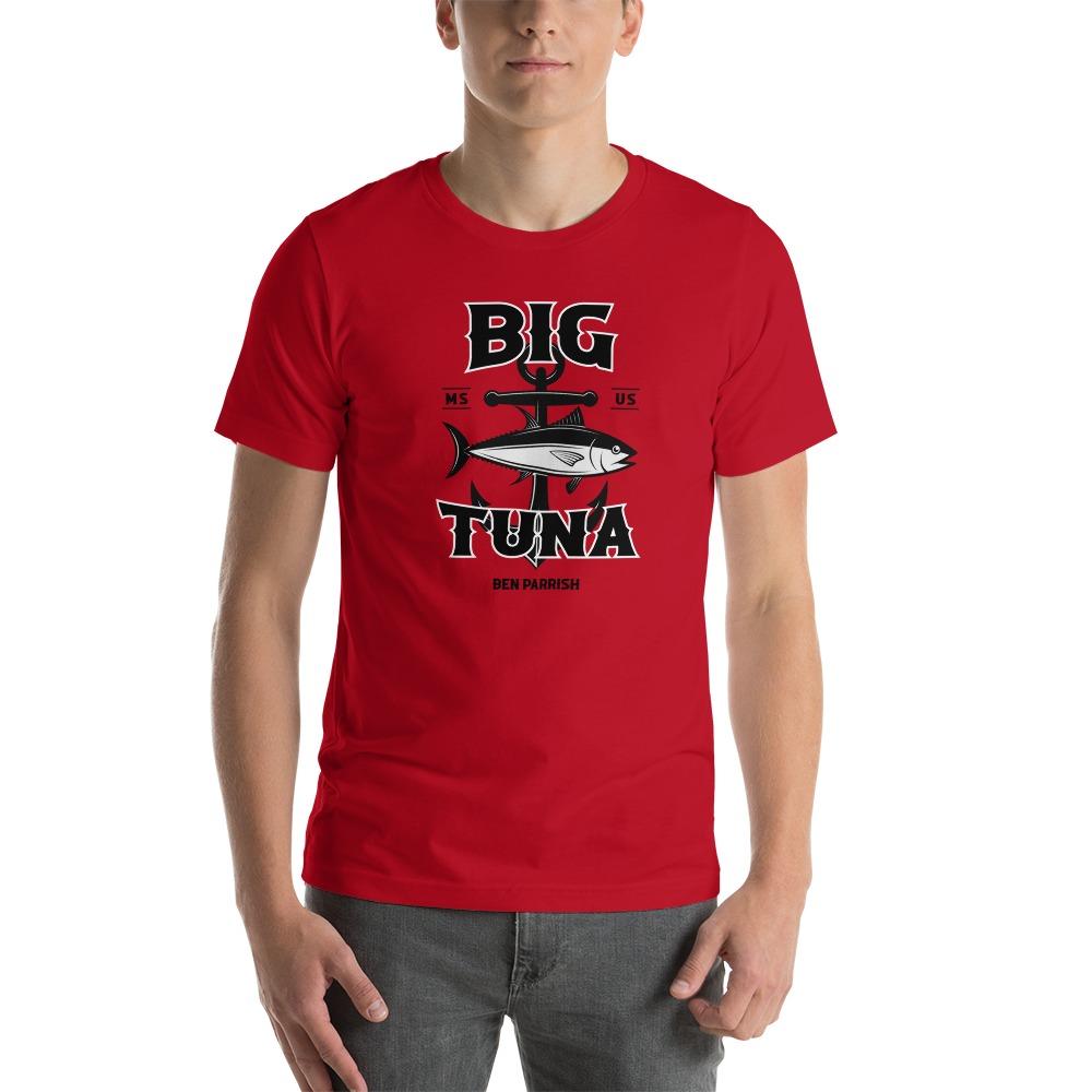 """Ben """"Big Tuna"""" Parrish Men's T-shirt, Black Logo"""