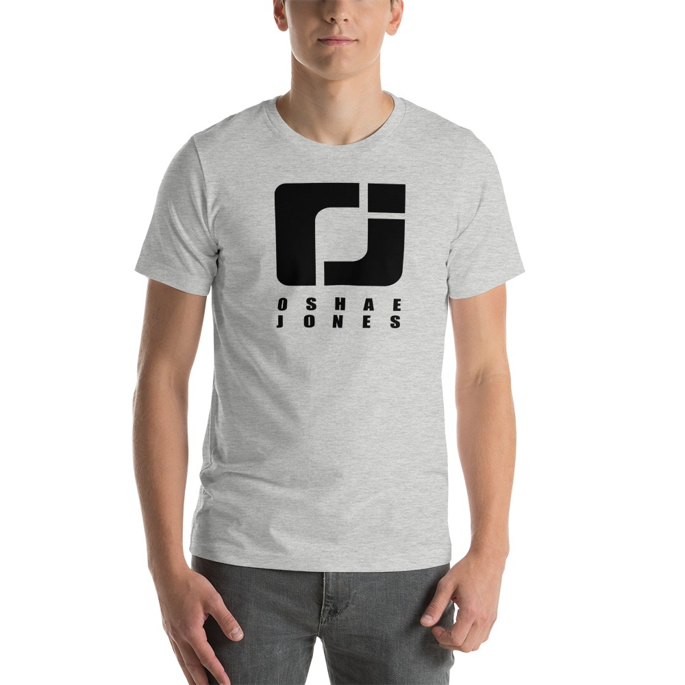 O'shae Jones Men's T-shirt, Black Logo