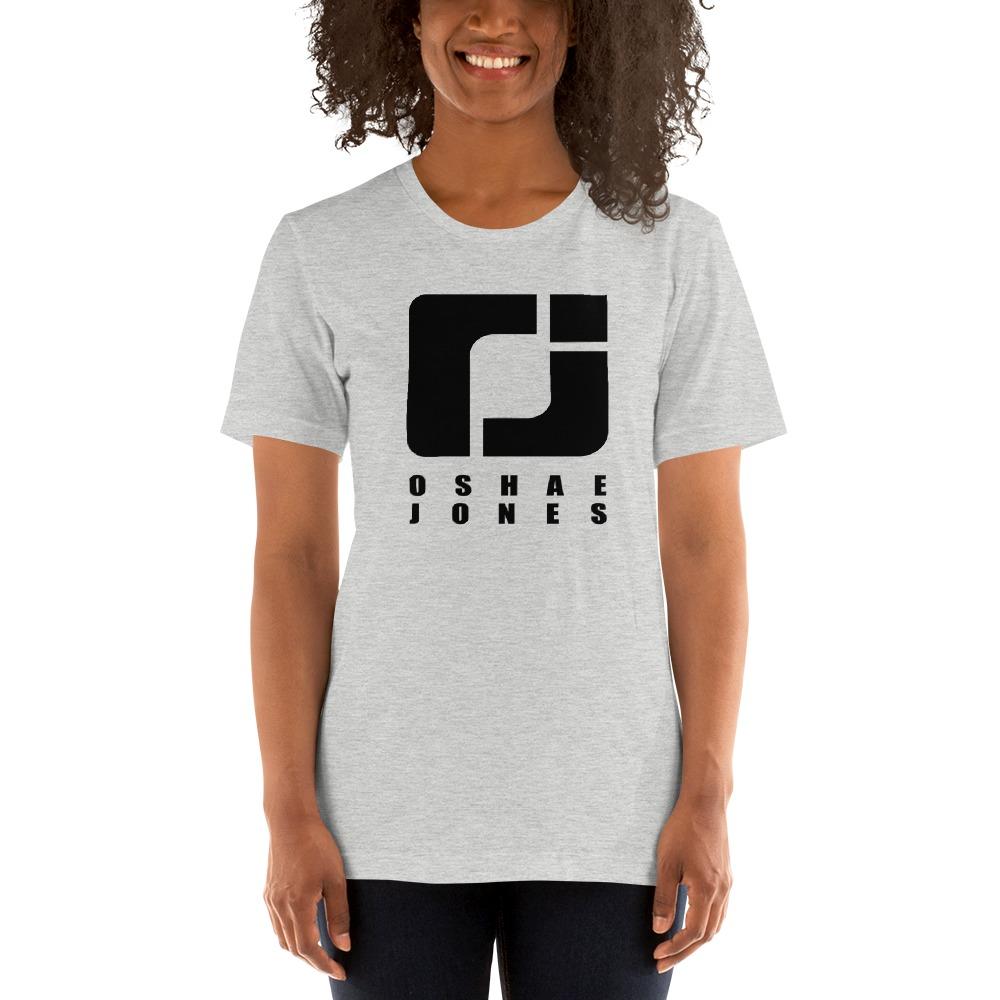 O'shae Jones Women's T-shirt, Black Logo