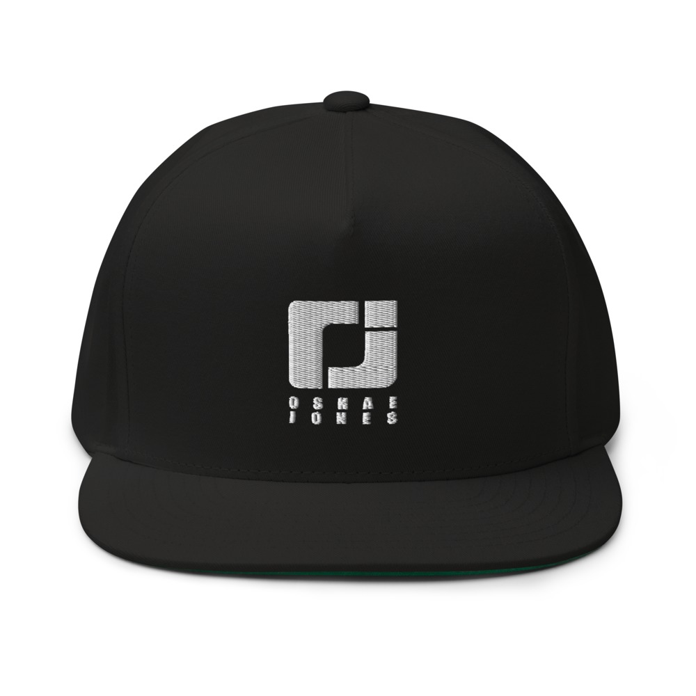 O'shae Jones Hat, WhiteLogo