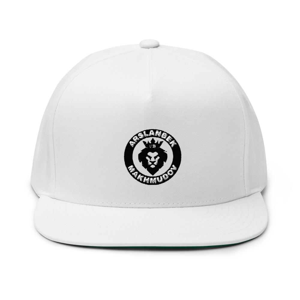 Lion's Head by Arslanbek Makhmudov hat, All Black Logo