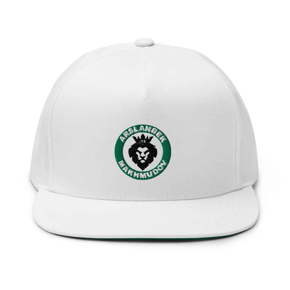 Lion's Head by Arslanbek Makhmudov hat, Black and Green Logo